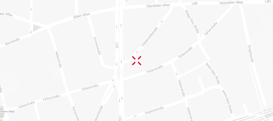 Map of XM Germany