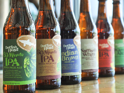 Dogfish Head Brewery Beers